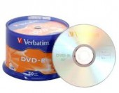 100 INSERTI IN CARTA  + 100 DVD-R VERBATIM IN CAMPANA (#804A)