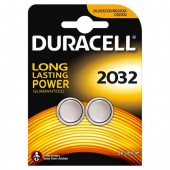 2 PILE DL 2032 DURACELL 3V LITIO ULTRA M3 equivalente cr2032 (#27A COD.252032DL82)