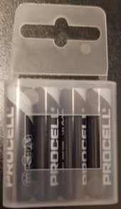 4 PILE MINISTILO AAA MN2400 DURACELL PROCELL INDUSTRIALI LR03 ALCALINE BLISTER PACK (#2C) *MINIMO 96 BLISTER
