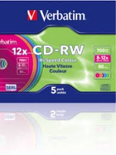 10 INSERTI CD + CD-RW VERB SINGLE BOX (#797A)