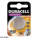 Pila Duracell ultra M3 litio DL 2450 3V micropile a bottone